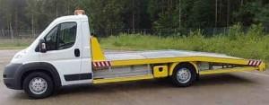 Lichte oprijwagen tot 3500kg totaalgewicht
